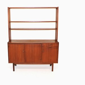 Teak Shelf and Dresser, 1960s