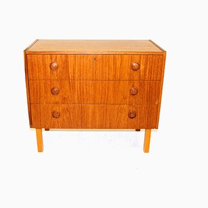 Swedish Chest of Drawers, 1960s