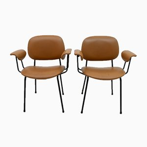 Mid-Century Italian Armchairs by Gastone Rinaldi for Rima, 1960s, Set of 2