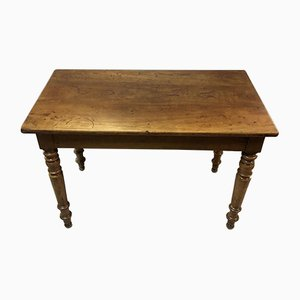 Antique Louis Philippe Walnut Bistro Table