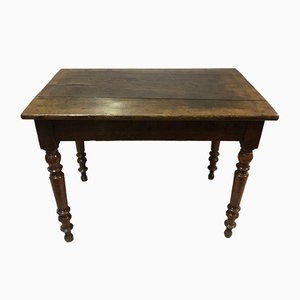 Antique Louis Philippe Oak Bistro Table