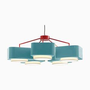 Carousel 5 or 3 Arm Suspension Lamp by Utu Soulful Lighting