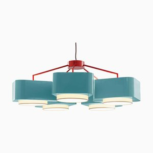Lámpara colgante Carousel de 5 o 3 brazos de Utu Soulful Lighting