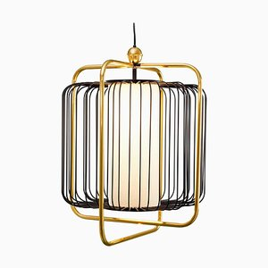 Jules Suspension Lamp with Brass by Utu Soulful Lighting