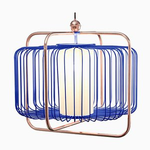 Jules I Suspension Lamp with Copper by Utu Soulful Lighting
