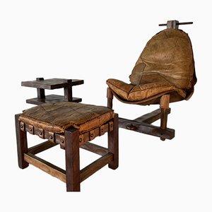 Brasilianische Sessel, 1960er, 3er Set