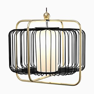 Jules I Suspension Lamp with Brass by Utu Soulful Lighting