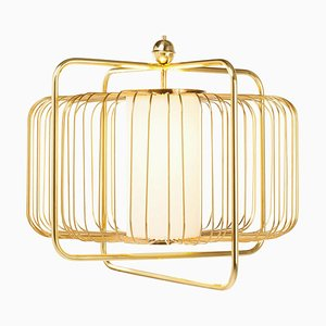 Jules I Suspension Lamp in Brass by Utu Soulful Lighting