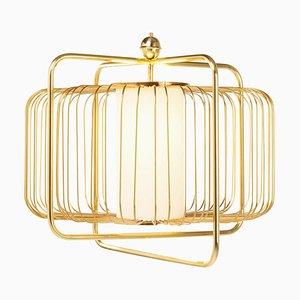 Jules I Suspension Lamp in Brass by Utu Soulful Lighting