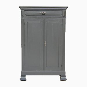 Antique Gray Cabinet