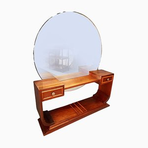 Art Deco Mahogany Dressing Table, 1930s