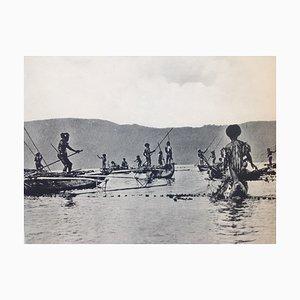Imprimé Photo Noir & Blanc Indes Orientales par Jean Demmeni pour Kleynenberg & Co., Haarlem, 1913