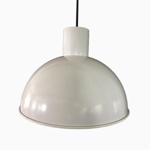 Vintage Danish Midi Bunker Pendant Lamps by Johannes Hammerborg for Fog & Mørup, 1960s, Set of 2
