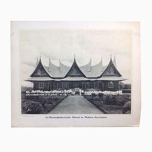 Impresión fotográfica de Indias Orientales holandesa en blanco y negro de Jean Demmeni para Kleynenberg & Co., Haarlem, 1913
