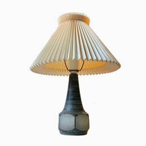 Danish Modern Ceramic Table Lamp from Michael Andersen & Son, 1970s