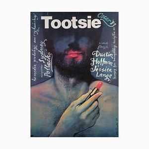 Polnisches Tootsie Film Filmplakat von Wieslaw Walkuski, 1984