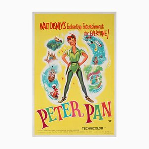 British Peter Pan Double Crown Film Movie Poster, 1965