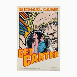 Poster del film Get Carter di John Van Hamersveld, Stati Uniti, 1968