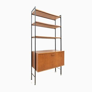 Mid-Century Teak Shelving Bookcase from Avalon