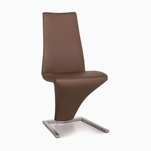 Brown Leather 7800 Dining Chair from Rolf Benz