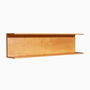 Wall Shelf in Beech by Walter Wirz for Wilhelm Renz, 1960s