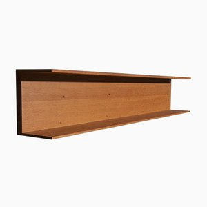 Wall Shelf in Oak by Walter Wirz for Wilhelm Renz, 1960s