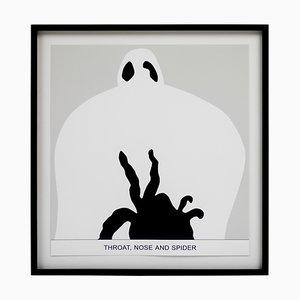 Sediment Throat, Nose, and Spider by John Baldessari, 2010