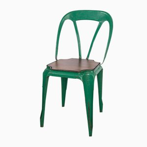 Stackable Dining Chairs, 1950s, Set of 5