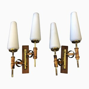 Mid-Century Italian Sconces from Arredoluce, 1950s, Set of 2