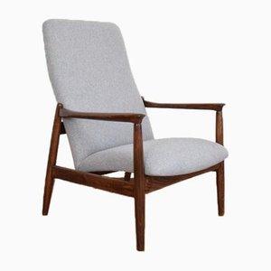 Mid-Century Polish Lounge Chair by Edmund Homa for Gościcińskie Fabryki Mebli, 1960s