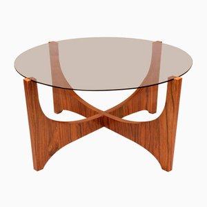 Scandinavian Rosewood Coffee Table, 1960s