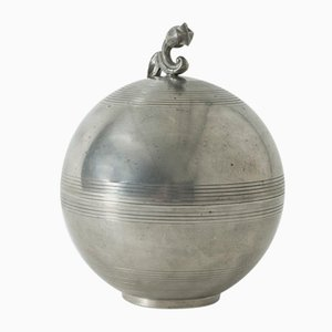 Pewter Jar by Sylvia Stave for C. G. Hallberg, 1930s
