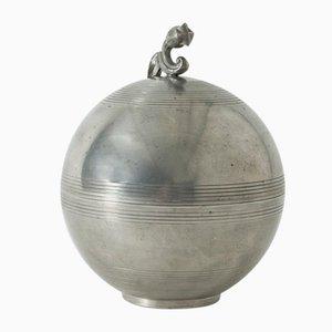 Pot Pewter par Sylvia Stave pour CG Hallberg, 1930s