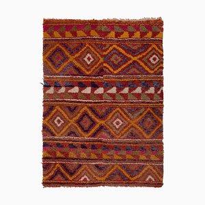 Vintage Soft Colors Tulu Rug, 1970s