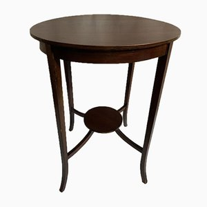 Vintage Mahogany Dining Table from Bowman Brothers, 1920s