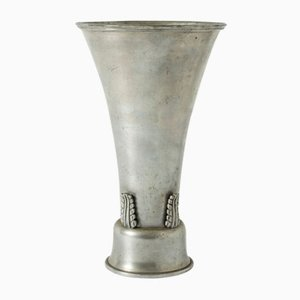 Vase en Étain par Ystad Metall, 1930s