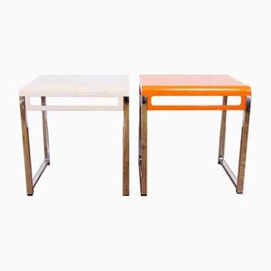 Mid-Century Side Tables, Set of 2