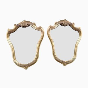 Baroque Style Mirrors, 1970s, Set of 2