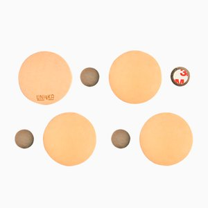 Nude Magnetiqka Wall Organizer by Jacob De Baan for Uniqka, Set of 4