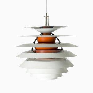 Lampada da soffitto modello Kontrast di Poul Henningsen per Louis Poulsen, anni '60