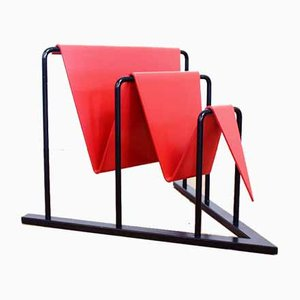 Vintage Magazine Rack by Tjerk Reijenga for Pilastro