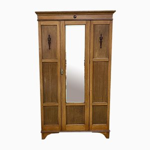 English Oak Wardrobe, 1930s