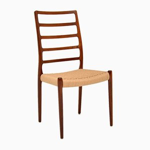 Vintage Danish Rosewood Dining Chairs by Niels Otto Møller, 1960s, Set of 2