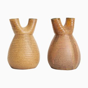 Vasi in ceramica di Accolay, anni '50, set di 2