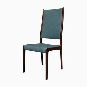 Scandinavian Modern Rosewood Dining Chairs, Set of 6