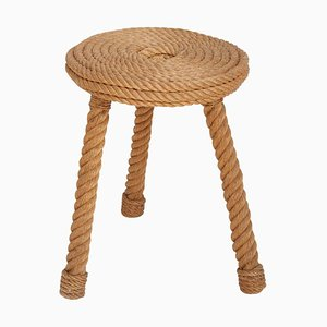 Rope Stool by Adrien Audoux and Frida Minet , 1950s