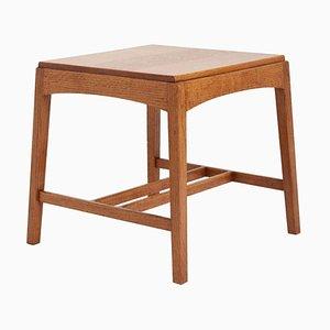 Arts & Craft Oak Side Table, 1920s