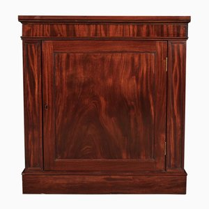Antique Figured Mahogany Side Cabinet
