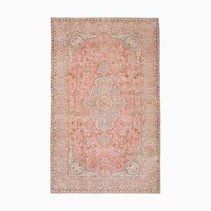 Vintage Turkish Floral Woolen Sparta Rug, 1970s
