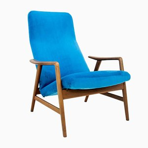 Swedish Armchair by Alf Svensson, 1960s